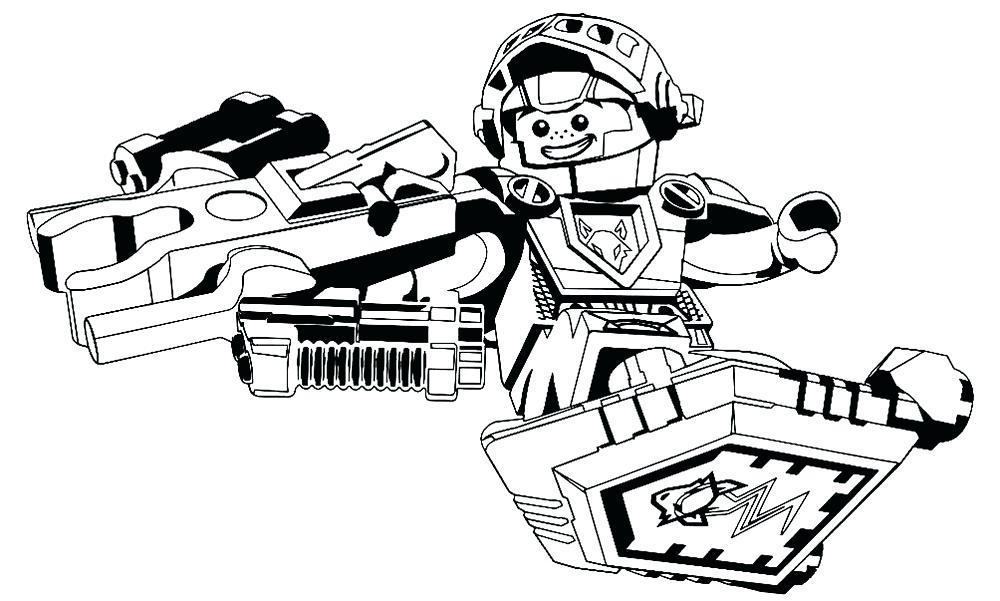 Lego Nexo Knights Coloring Www Robertdee Org