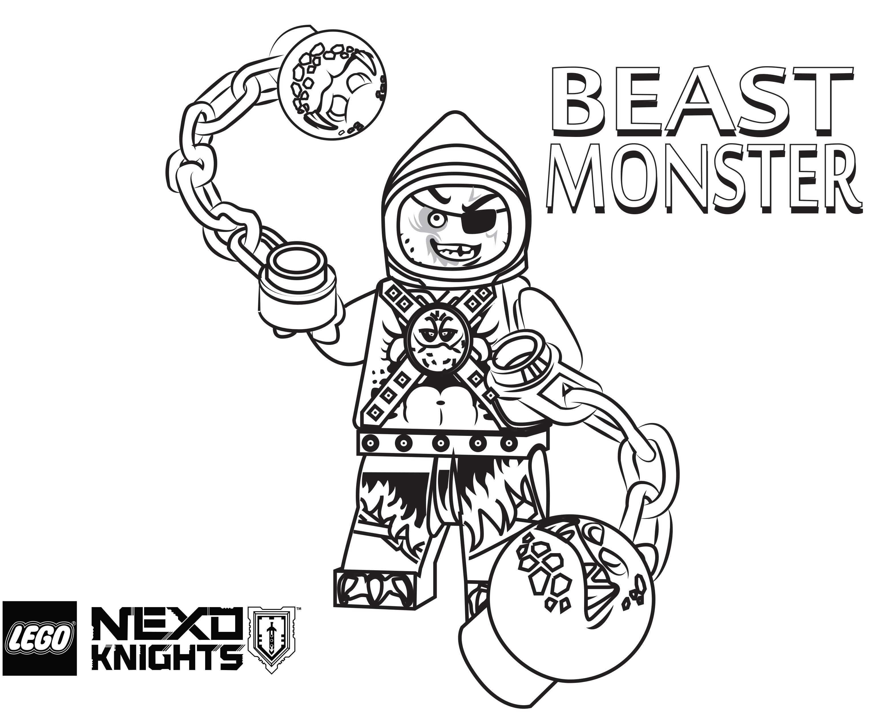 3126x2524 Lego Nexo Knights Coloring Pages Free Printable Lego Nexo
