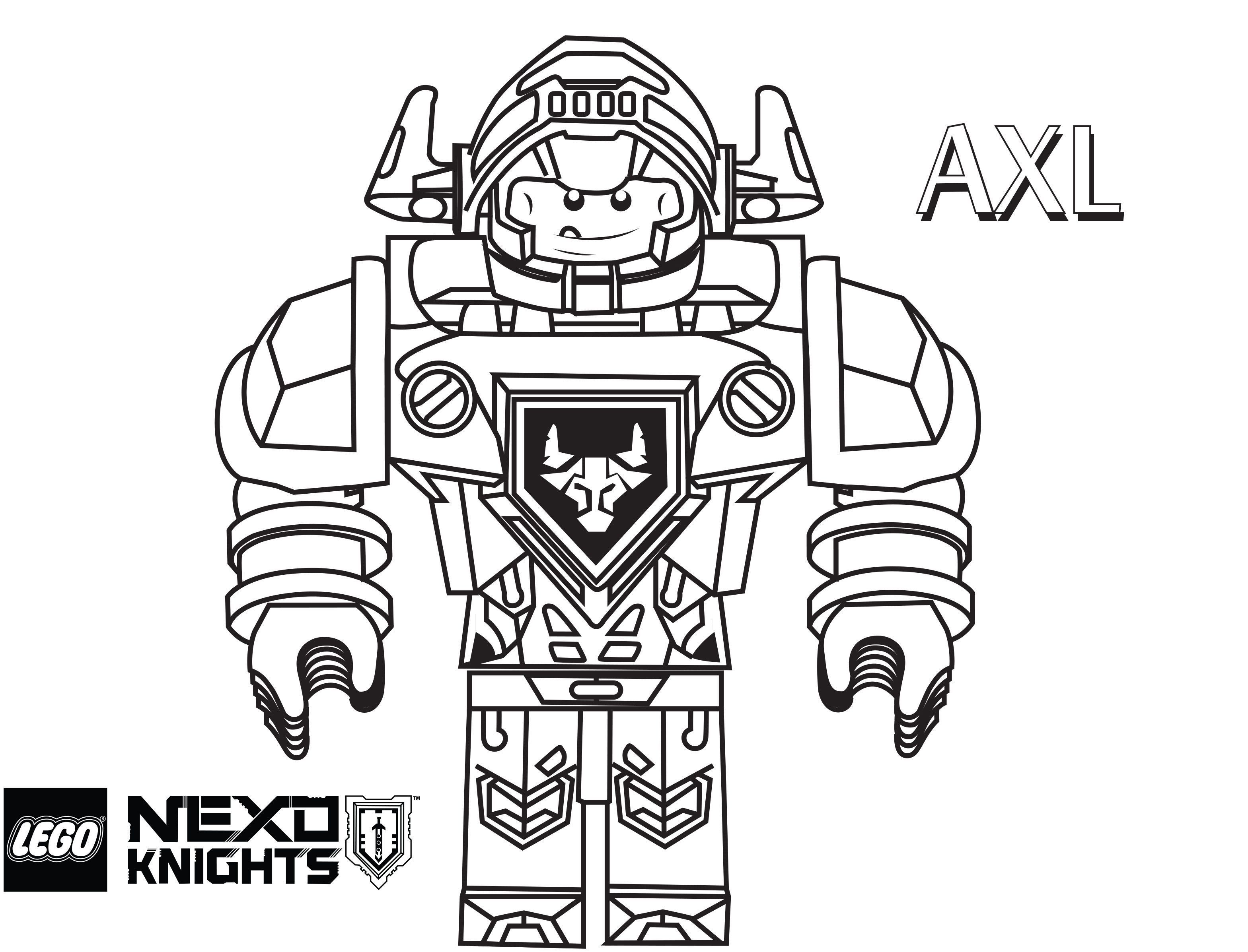 3137x2395 Lego Nexo Knights Coloring Pages Free Printable Exceptional Lego
