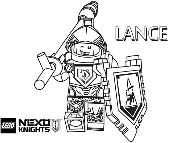 600x464 Lego Nexo Knights Coloring Pages To Print New Lego Nexo Knights