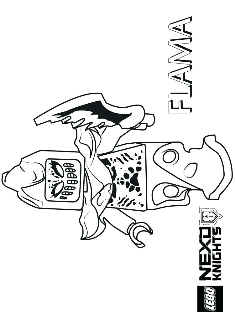 750x1000 Nexo Knights Coloring Pages Icontent