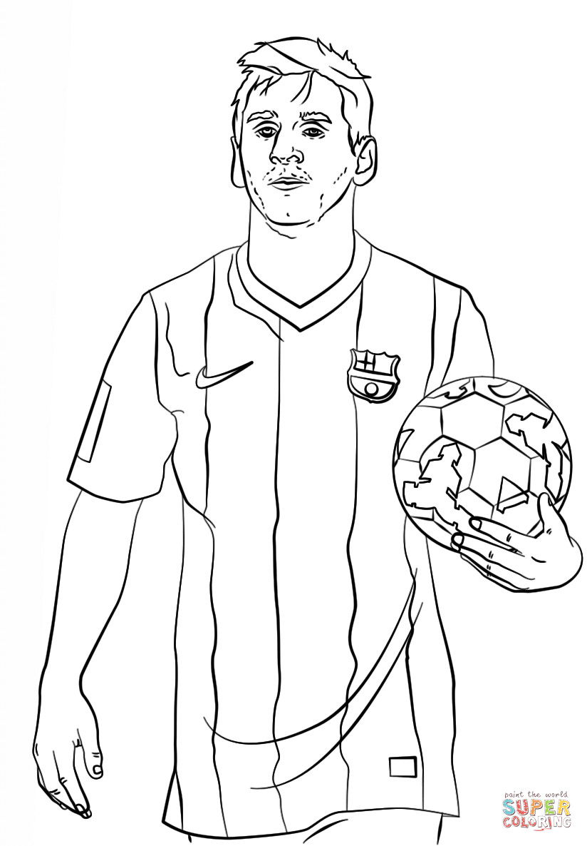 824x1186 Lionel Messi Coloring Page Pages