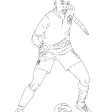 220x220 Neymar Coloring Pages