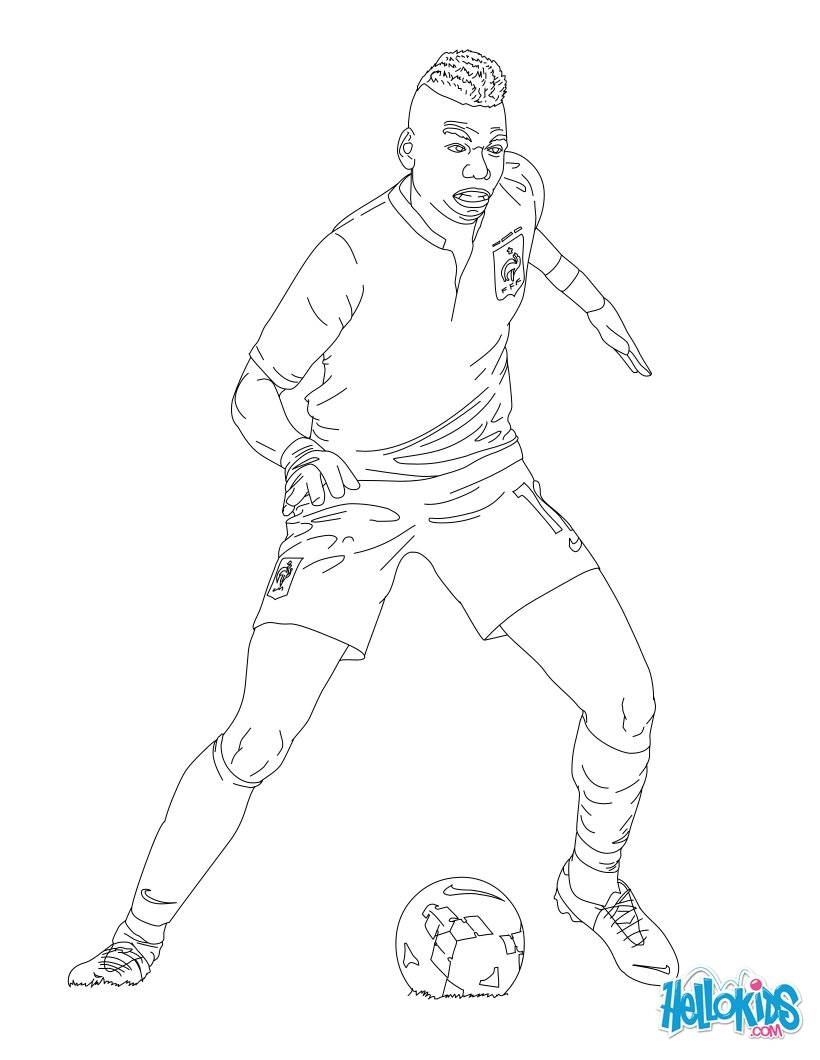 820x1060 Paul Pogba Coloring Page To Color Paul Pogba, Free