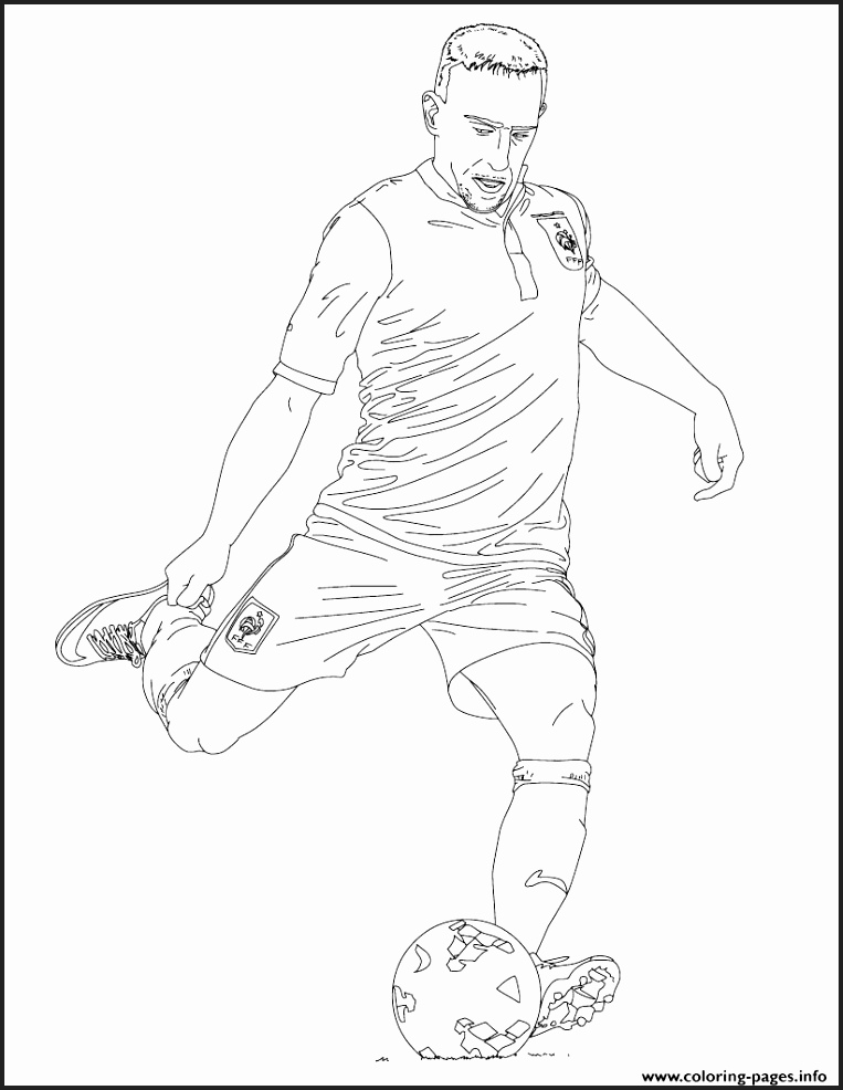 763x986 Soccer Coloring Pages To Print