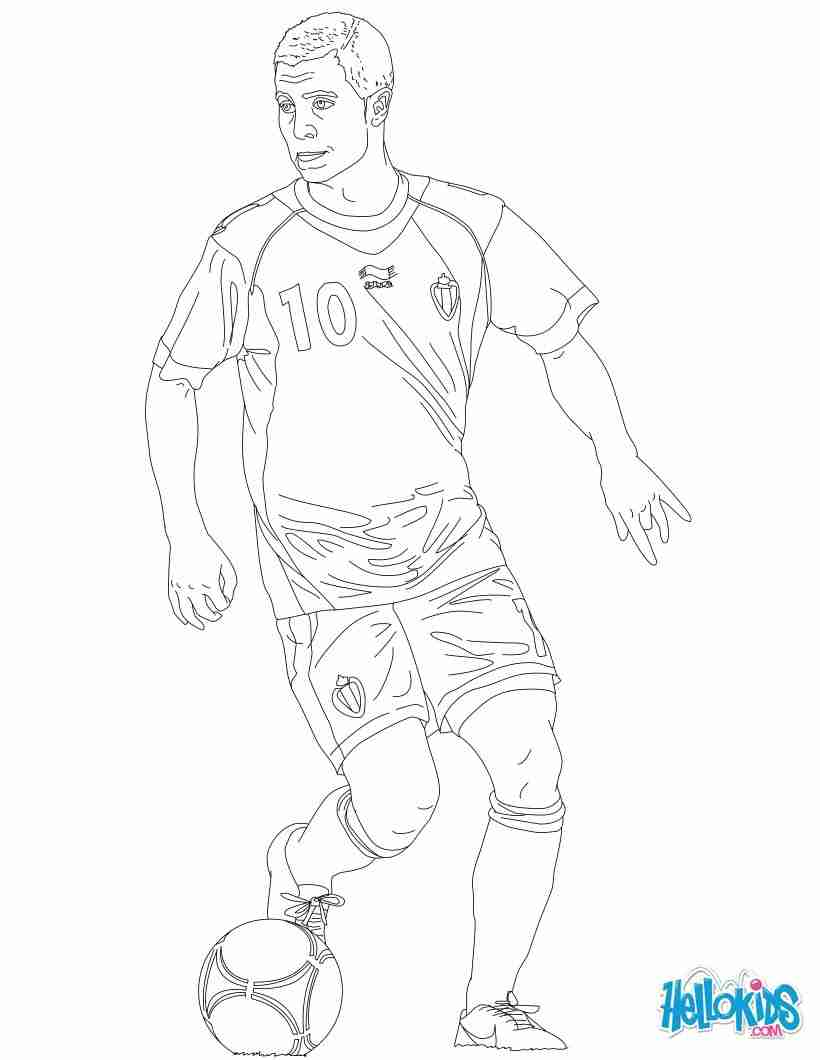 820x1060 Coloring Page Of Soccer Players Pages Arresting Player Olegratiy