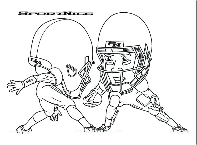 827x609 Free Nfl Coloring Pages Football Helmets Coloring Pages Stock Team