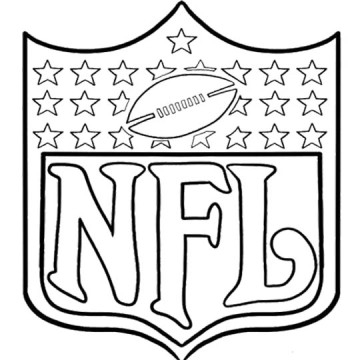 360x360 Nfl Coloring Books