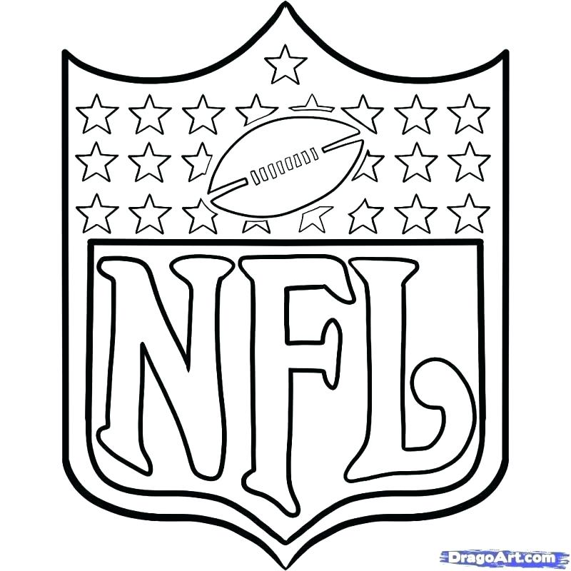 800x800 Nfl Coloring Pages Players Coloring Pages Logos Coloring Pages