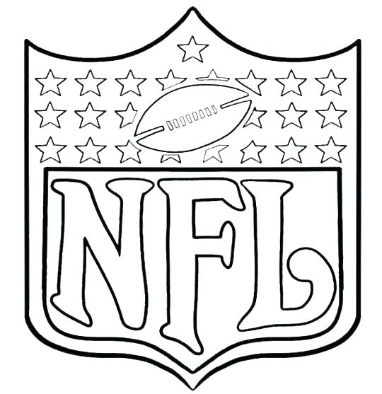 540x557 Free Nfl Coloring Pages Football Coloring Pages Lovely Football