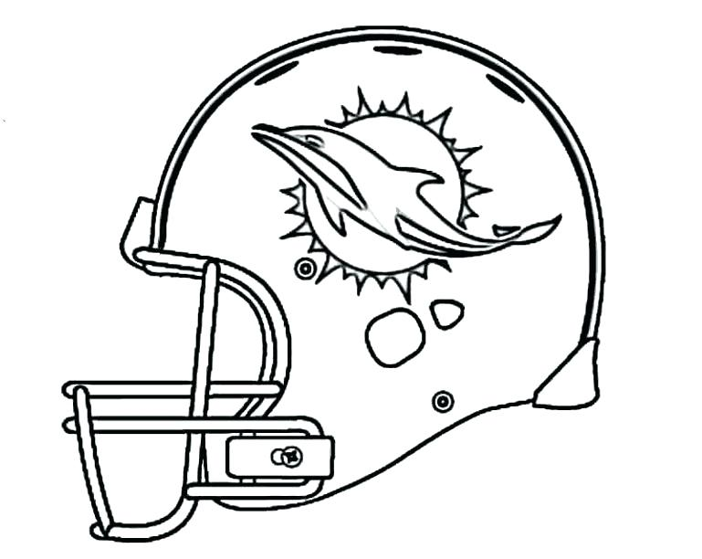 769x612 Nfl Coloring Pages Helmets