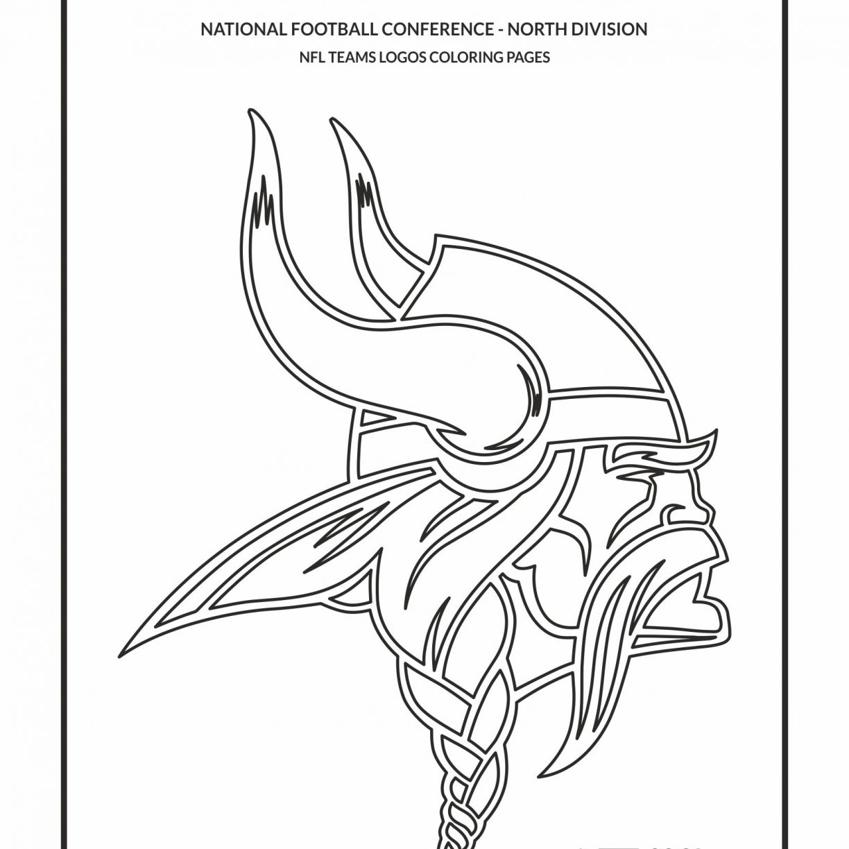 1224x1224 Nfl Coloring Pages With Logo Page General Seahawks Carolina