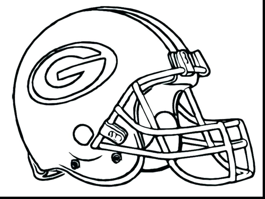 863x647 Nfl Coloring Pages