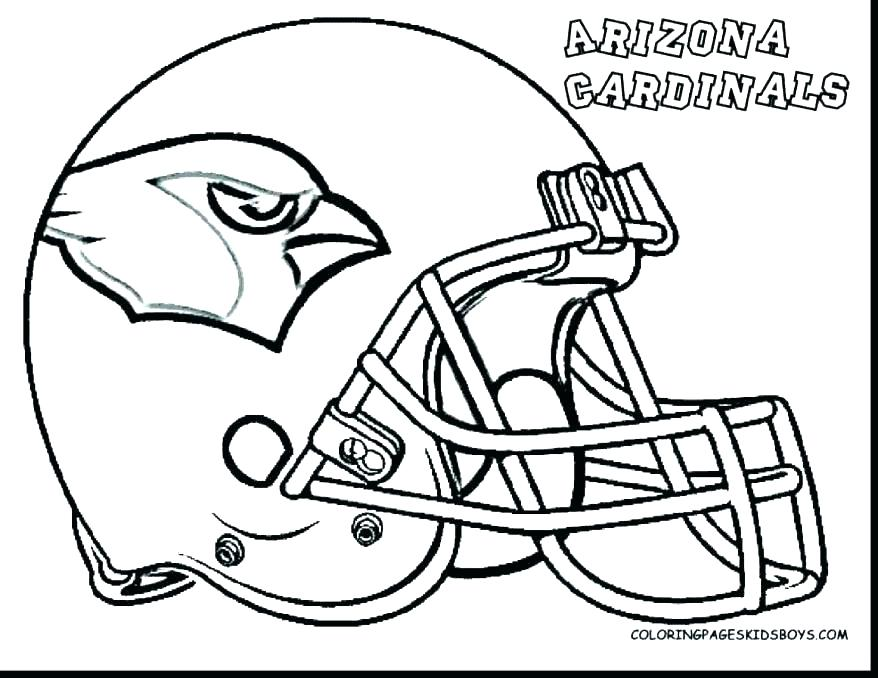 878x678 Coloring Nfl Coloring Pages Players Logos Team Cool Football