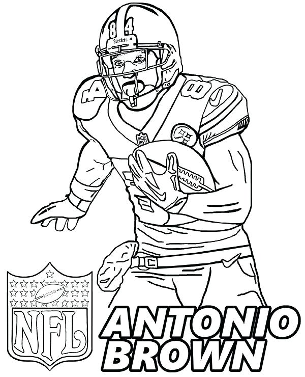 600x740 Nfl Coloring Pages Players Coloring Helmets Coloring Pages