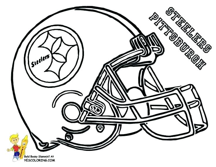 736x568 Free Nfl Coloring Pages