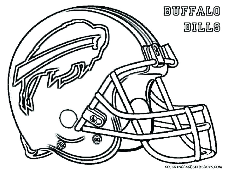 878x678 Free Nfl Logo Coloring Pages