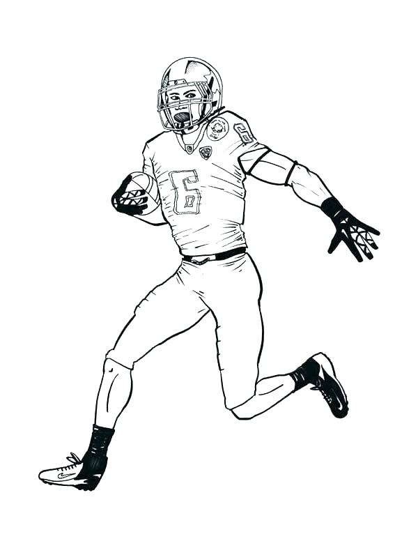 600x776 Free Nfl Coloring Pages Coloring Page Coloring Page Free Free Nfl