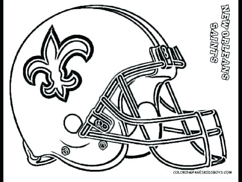 480x360 Football Printable Coloring Pages Football Coloring Pages Redskins