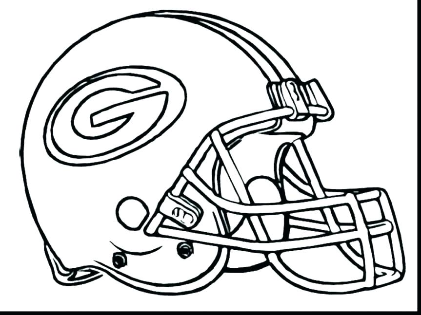863x647 Nfl Helmet Coloring Pages Easy Football Color Sheet Helmets