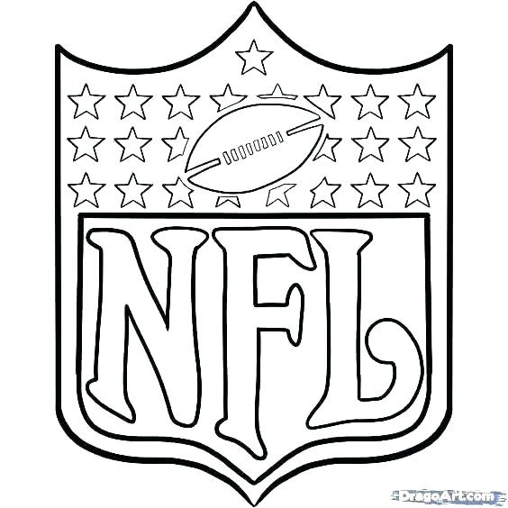 564x564 Nfl Logo Coloring Pages Football Coloring Pages Free Coloring Free