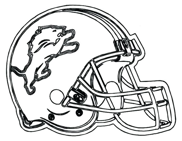 700x541 Nfl Helmet Coloring Pages