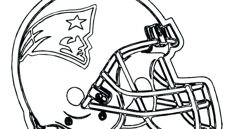 770x430 Football Coloring Pages Redskins Coloring Pages Football Helmet