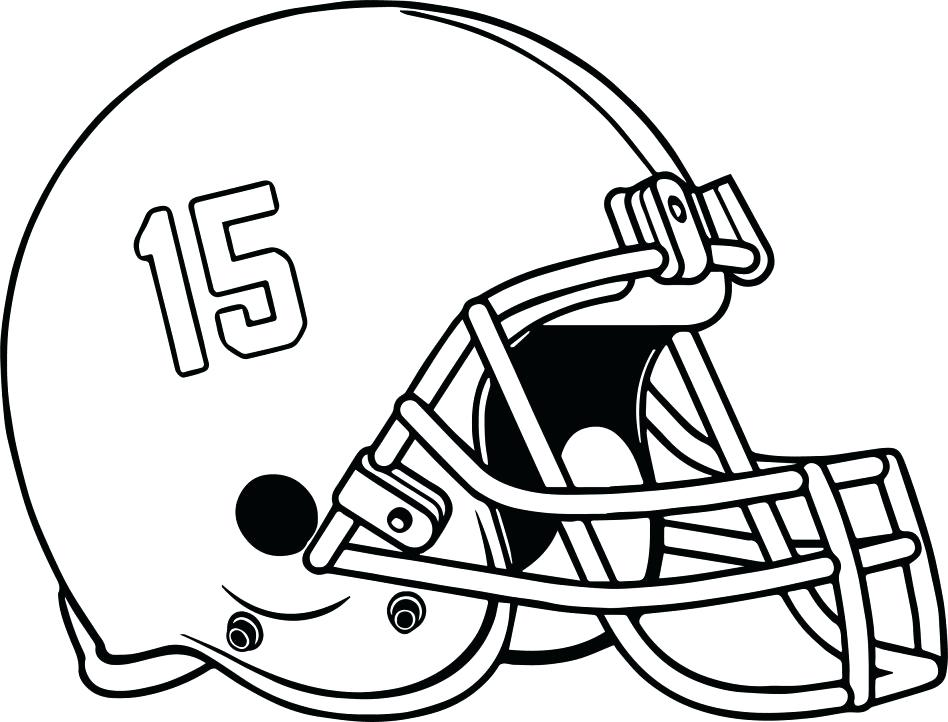 948x722 Football Helmet Coloring Pages Large Size Of Football Helmet