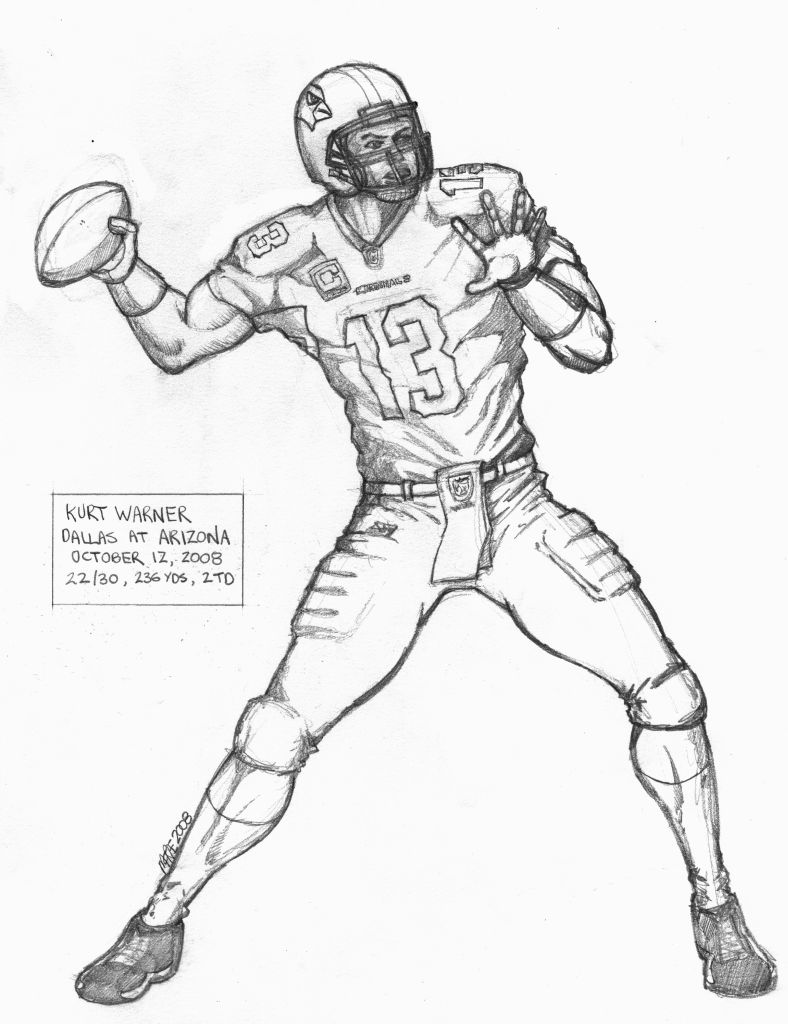 Nfl Football Player Coloring Pages at GetDrawings.com | Free for ...