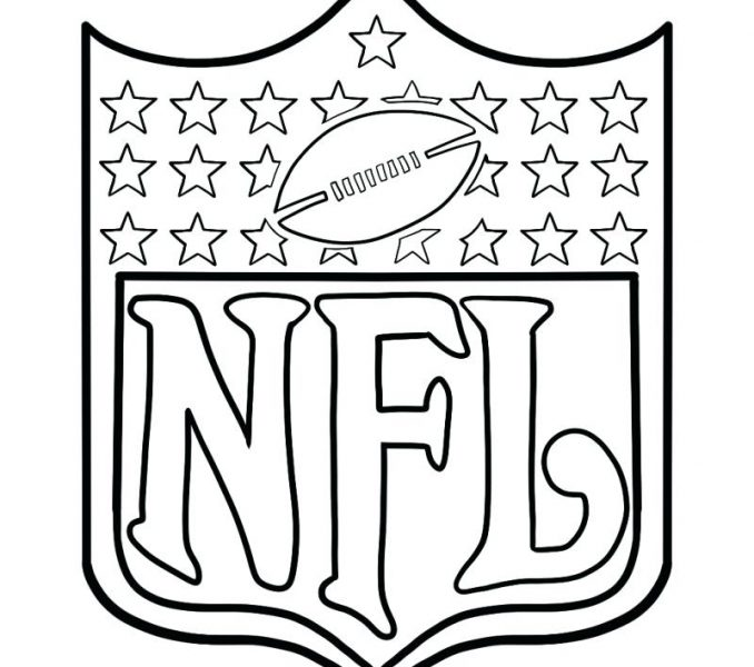 678x600 Nfl Coloring Pages Logo Coloring Page