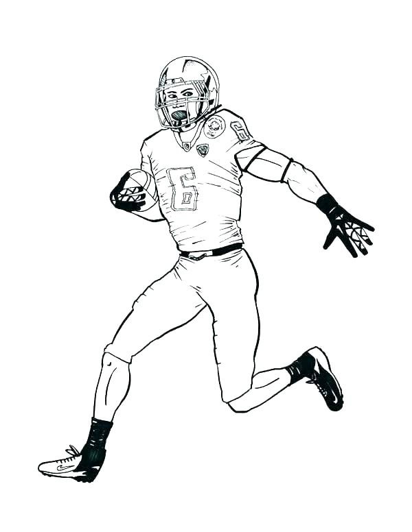 600x776 Football Coloring Pages Printable Coloring Pages Football Helmets