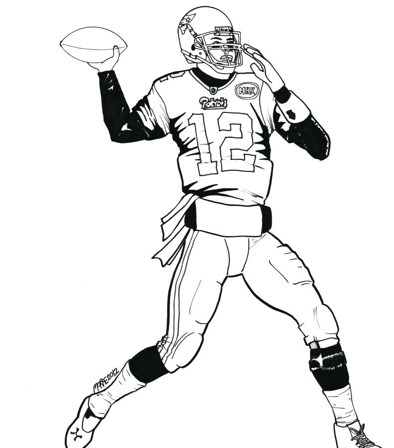 792x900 Nfl Coloring Page Coloring Pictures Best Of Nfl Coloring Pages