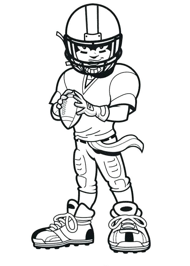 620x870 Nfl Coloring Pages