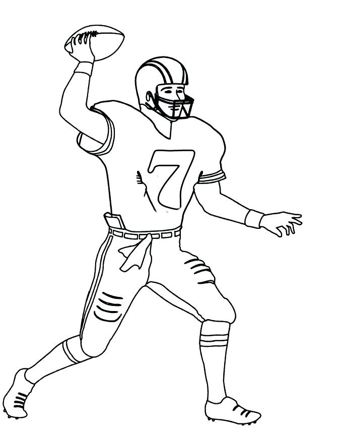 675x859 Football Coloring Pages Nfl Coloring Page Football Coloring Pages