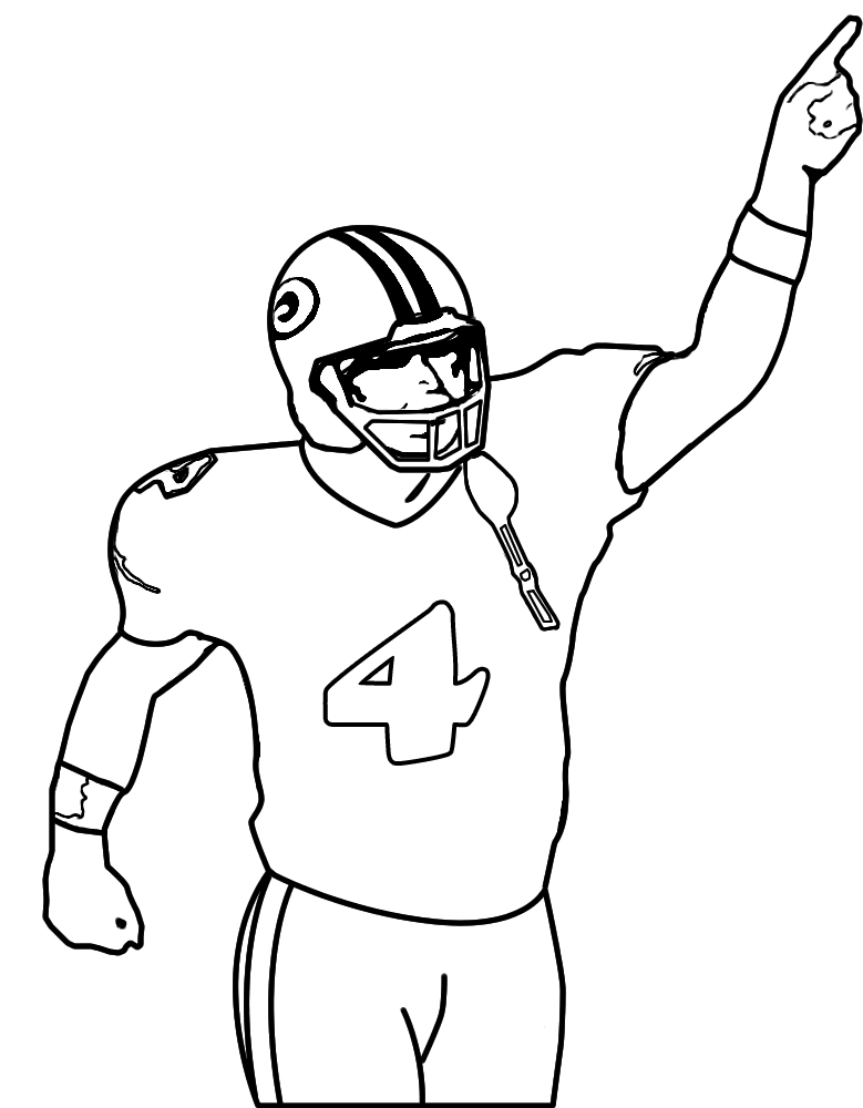 779x1000 Player Nfl Football Coloring Pages Crafts Nfl Football