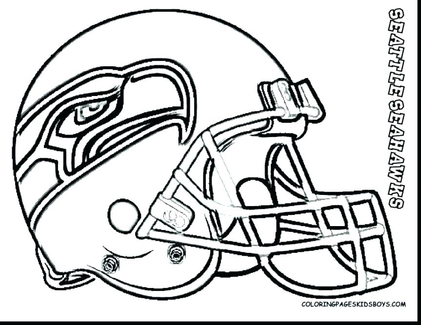 863x667 Nfl Football Team Logos Coloring Pages Teams Sports Helmet