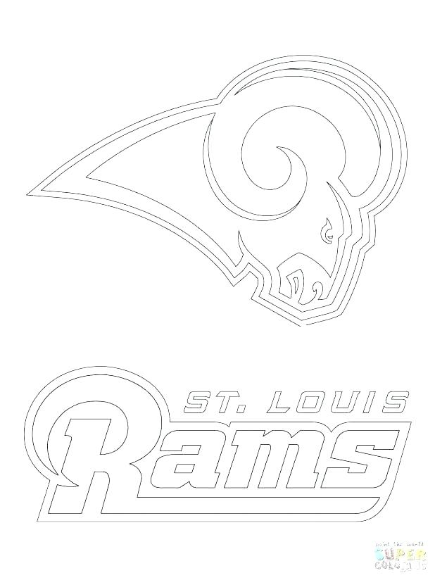 618x824 Nfl Logos Coloring Pages