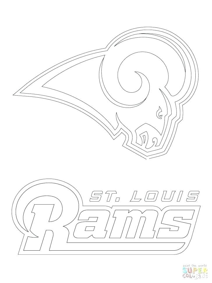 728x971 Colts Coloring Pages Football Logo Coloring Pages For Printable