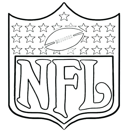 540x557 Nfl Coloring Page Coloring Pages Appealing Coloring Pages Teams