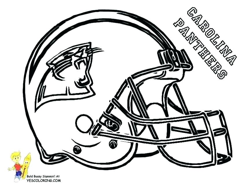 840x649 Nfl Teams Coloring Pages