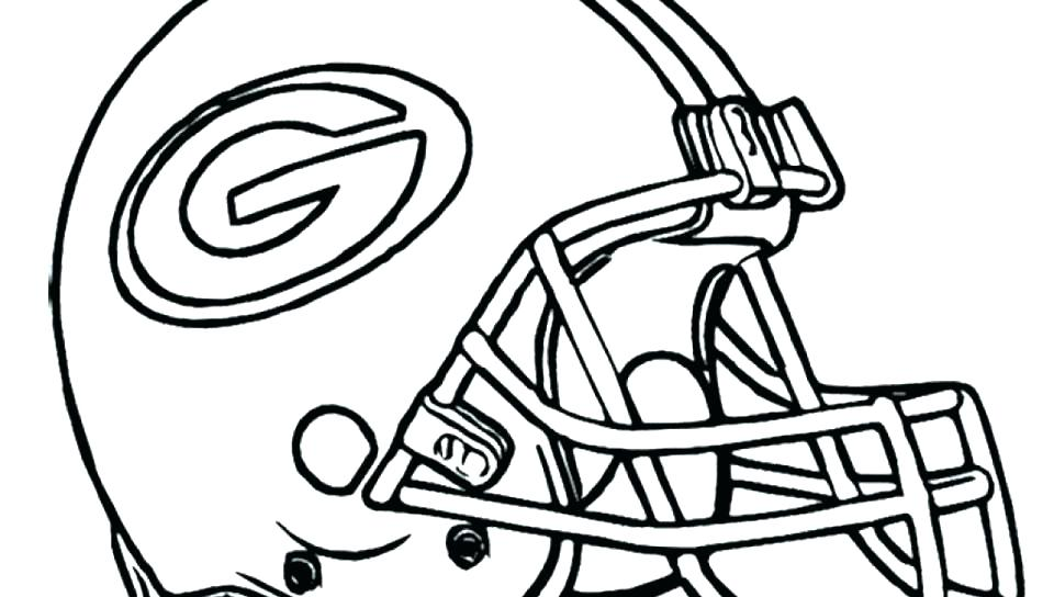 960x544 Printable Coloring Pages Nfl Team Logos Football Le Helmet