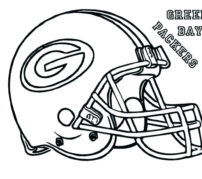 678x600 Coloring Nfl Teams Coloring Pages Of Football Helmet Free All