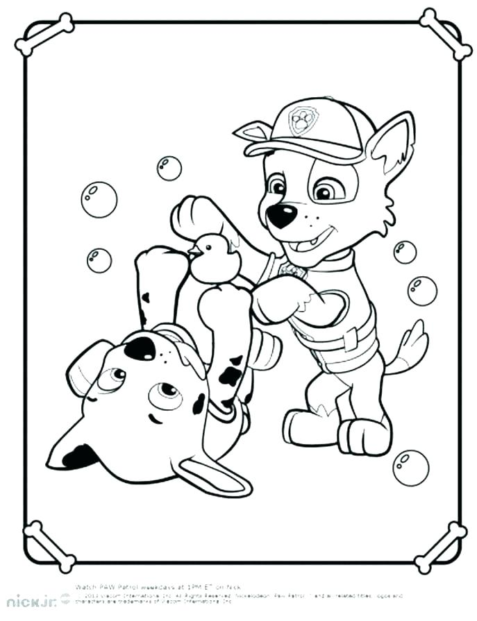 687x895 Nick Jr Coloring Pages Free Nick Jr Printable Paw Patrol