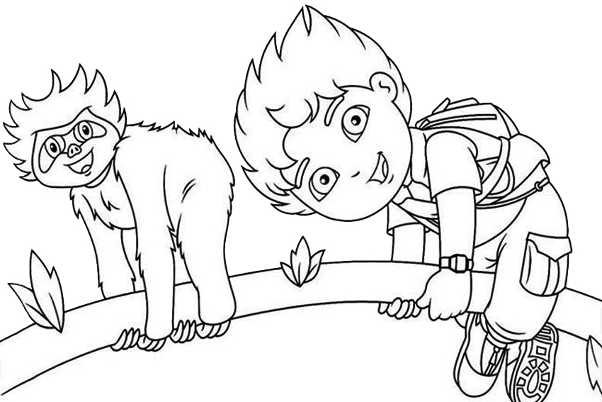 850x567 Nick Jr Coloring Pages Fun Time