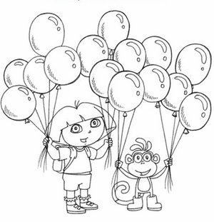 300x311 Nick Jr Coloring Pages