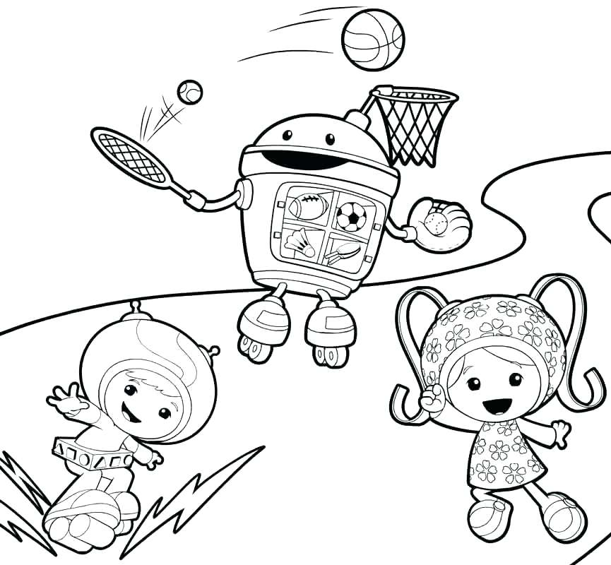 865x800 Nick Jr Coloring Pages Free Team Coloring Page Team Coloring Pages