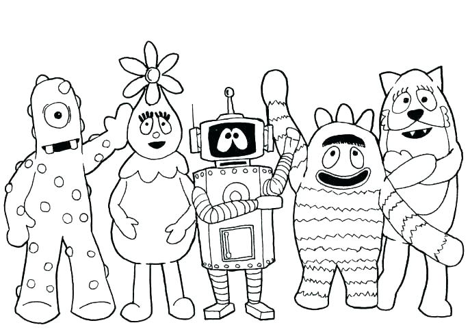687x491 Nick Jr Coloring Pages To Print Nickelodeon Coloring Pages