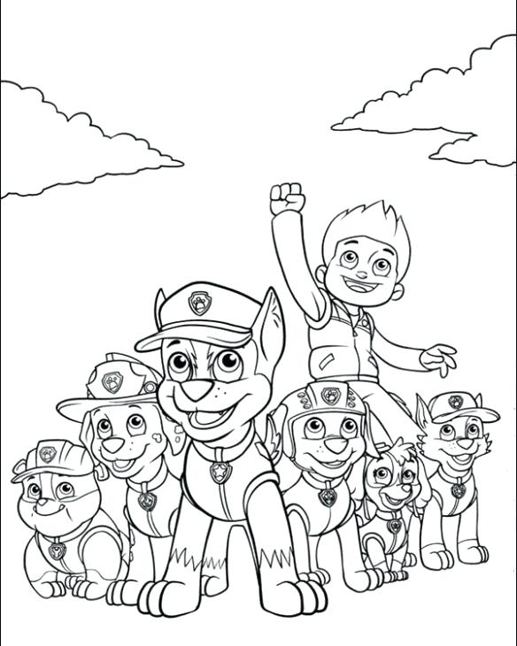 584x730 Nick Jr Halloween Coloring Pages Nick Jr Printable Coloring Pages