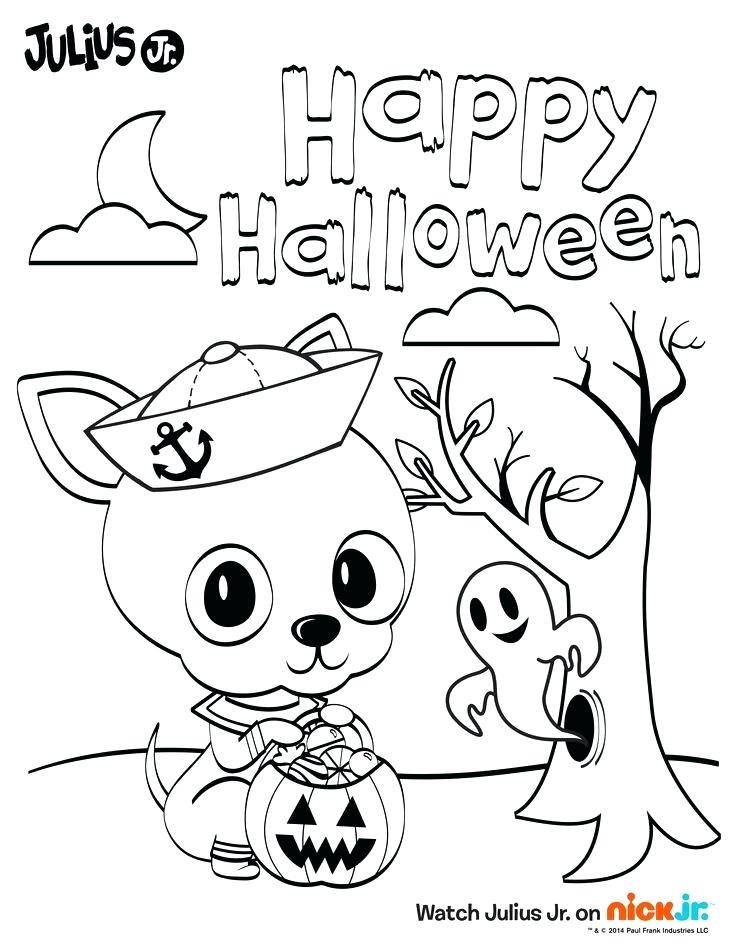 736x952 Nick Jr Halloween Coloring Pages Nick Jr Halloween Coloring Pages