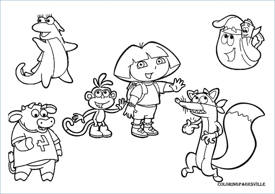940x664 Disney Jr Halloween Coloring Pages